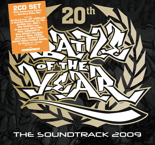 International Battle Of The Year 2009 soundtrack(CD1+CD2)