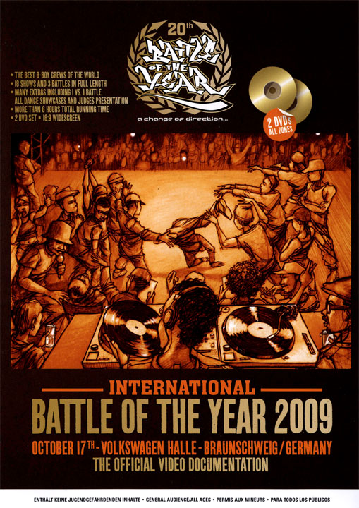 International Battle of the Year 2009 (Disc 1,2)