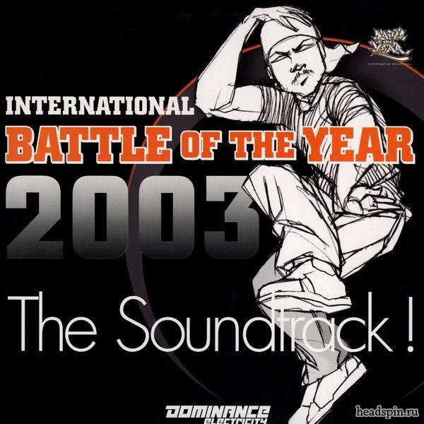 International Battle Of The Year 2003 soundtrack