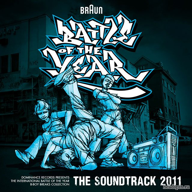 International Battle Of The Year 2011 soundtrack
